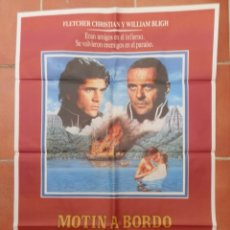 Cine: GRAN CARTEL DE CINE MOTÍN A BORDO. CINEMA INTERNATIONAL CORPORATION.. Lote 218230682