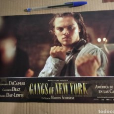 Cine: CARTEL DE CINE GANGS OF NEW YORK. Lote 218231428