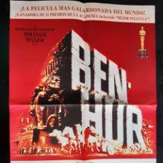 Cine: CARLEL DE LA PELÍCULA BEN - HUR EDICIÓN LIMITADA NÚMERO 019993.. Lote 218237410