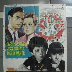 Cine: CDO 5209 LA BARRERA CARLOS ESTRADA JOSE BODALO MARIA MAHOR MAC POSTER ORIGINAL 70X100 ESTRENO. Lote 218373661