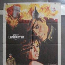 Cinema: CDO 5245 LA FORTALEZA BURT LANCASTER PETER FALK POSTER ORIGINAL 70X100 ESTRENO. Lote 218409136