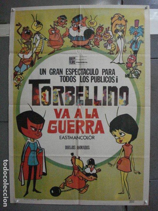CDO 5267 TORBELLINO VA A LA GUERRA ROBERTO GAVIOLI POSTER ORIGINAL 70X100 ESTRENO (Cine - Posters y Carteles - Infantil)