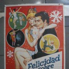 Cinema: CDO 5283 FELICIDAD SOBRE EL HIELO MARIKA KILIUS PATINAJE POSTER ORIGINAL 70X100 ESTRENO. Lote 218424092