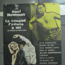 Cine: CDO 5313 LA CIUDAD FRENTE A MI PAUL NEWMAN MCP POSTER ORIGINAL 70X100 ESPAÑOL R-71. Lote 218494703