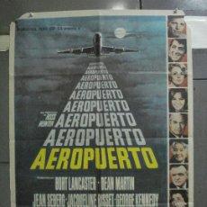Cine: CDO 5329 AEROPUERTO DEAN MARTIN BURT LANCASTER POSTER ORIGINAL ESPAÑOL 70X100 ESTRENO. Lote 218502381