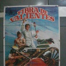 Cine: CDO 5333 FIBRA DE VALIENTES RENE MUGICA IGNACIO QUIROS POSTER ORIGINAL 70X100 ESTRENO. Lote 218503661