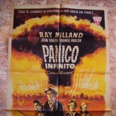 Cine: (CINE-557)PANICO INFINITO RAY MILLAND JEAN HAGEN ALE POSTER ORIGINAL ESTRENO. Lote 218509826