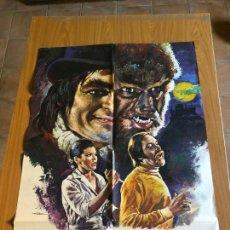 Cine: POSTER - DR. JEKYLL Y EL HOMBRE LOBO - PAUL NASCHY, ORIGINAL 1972 - CARTELISTA MAC. Lote 218510822