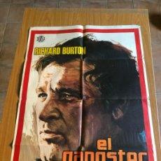 Cine: POSTER - EL GANGSTER - RICHARD BURTON, ORIGINAL 1975 - CARTELISTA JANO. Lote 218510953