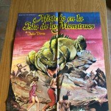 Cine: POSTER - MISTERIO EN LA ISLA DE LOS MONSTRUOS - ANA OBREGON, ORIGINAL. Lote 218511155