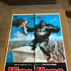 Cine: POSTER - KING KONG - JEFF BRIDGES, ORIGINAL 1976. Lote 218511326