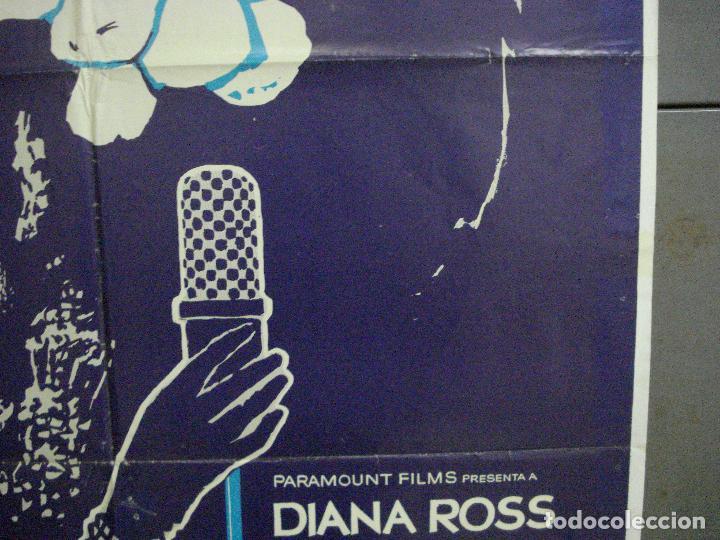 Cine: CDO 5356 EL OCASO DE UNA ESTRELLA DIANA ROSS POSTER ORIGINAL 70X100 ESTRENO - Foto 7 - 218517138