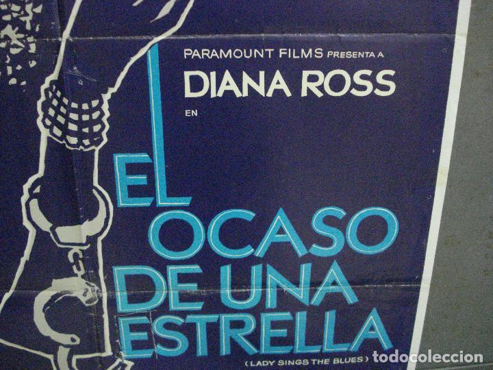 Cine: CDO 5356 EL OCASO DE UNA ESTRELLA DIANA ROSS POSTER ORIGINAL 70X100 ESTRENO - Foto 8 - 218517138