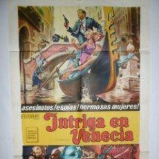 Cine: INTRIGA EN VENECIA - 1967 - 110 X 75- LITOGRAFICO. Lote 218562192
