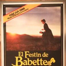 Cine: EL FESTIN DE BABETTE - 1988 - 70 X 100. Lote 218572366