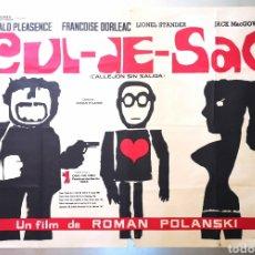 Cine: CUL - DE - SAC - 70 X 100 - ROMAN POLANSKI. Lote 218575261