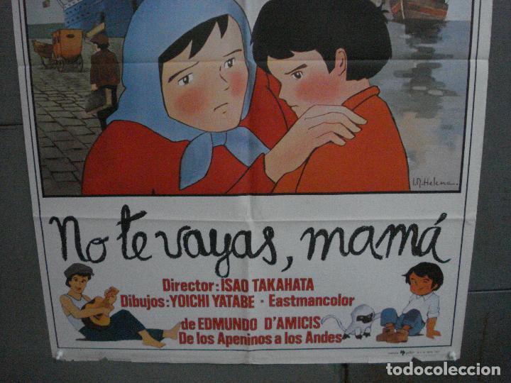 Cine: CDO 5376 NO TE VAYAS MAMA MARCO SERIE TV IR HELENA POSTER ORIGINAL 70X100 ESTRENO - Foto 3 - 218577913