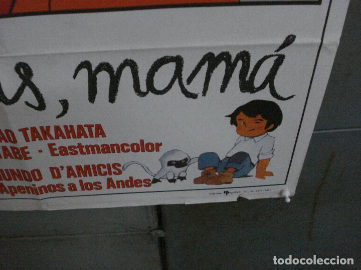 Cine: CDO 5376 NO TE VAYAS MAMA MARCO SERIE TV IR HELENA POSTER ORIGINAL 70X100 ESTRENO - Foto 5 - 218577913