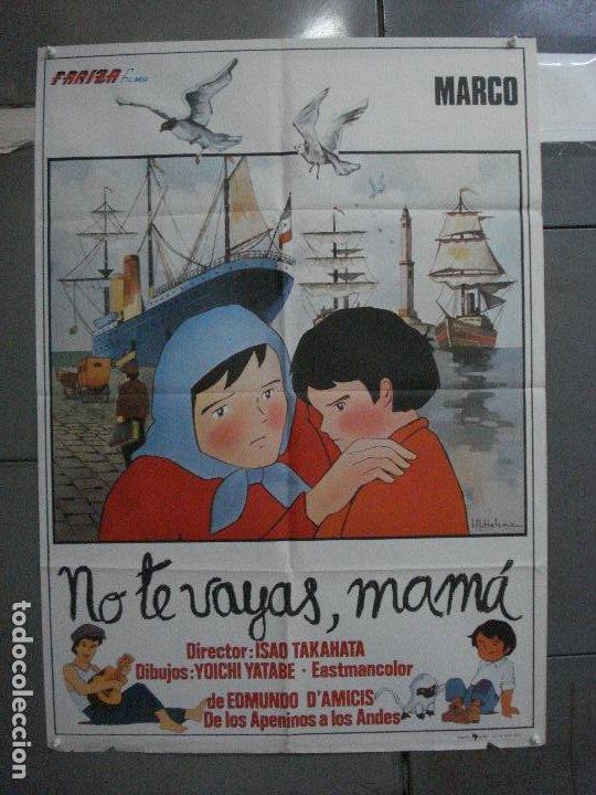 CDO 5376 NO TE VAYAS MAMA MARCO SERIE TV IR HELENA POSTER ORIGINAL 70X100 ESTRENO (Cine - Posters y Carteles - Infantil)