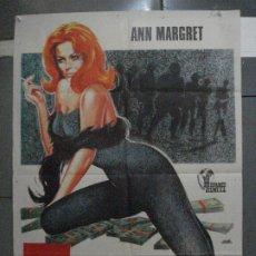 Cinéma: CDO 5391 7 HOMBRES Y UN CEREBRO ANN-MARGRET POSTER ORIGINAL 70X100 ESTRENO. Lote 218603365