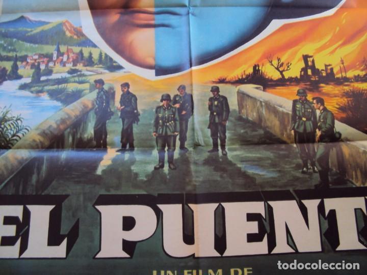 Cine: (CINE-569)EL PUENTE BERNHARD WICKI POSTER ORIGINAL - Foto 3 - 218603730