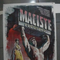 Cine: CDO 5398 MACISTE EL COLOSO GORDON MITCHELL PEPLUM ALE POSTER ORIGINAL 70X100 ESTRENO. Lote 218606651
