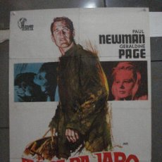 Cine: CDO 5400 DULCE PAJARO DE JUVENTUD PAUL NEWMAN POSTER ORIGINAL 70X100 ESPAÑOL R-72. Lote 218610251