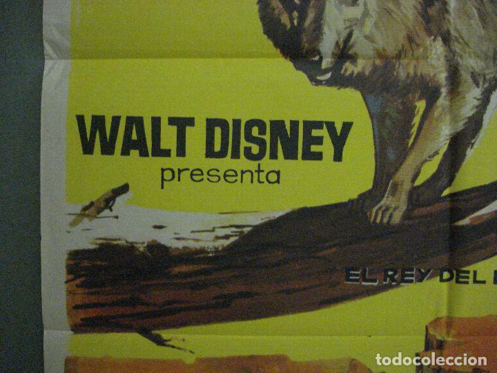 Cine: CDO 5412 LA LEYENDA DE LOBO WALT DISNEY POSTER ORIGINAL ESTRENO 70X100 - Foto 3 - 218629203