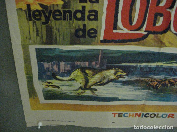 Cine: CDO 5412 LA LEYENDA DE LOBO WALT DISNEY POSTER ORIGINAL ESTRENO 70X100 - Foto 5 - 218629203