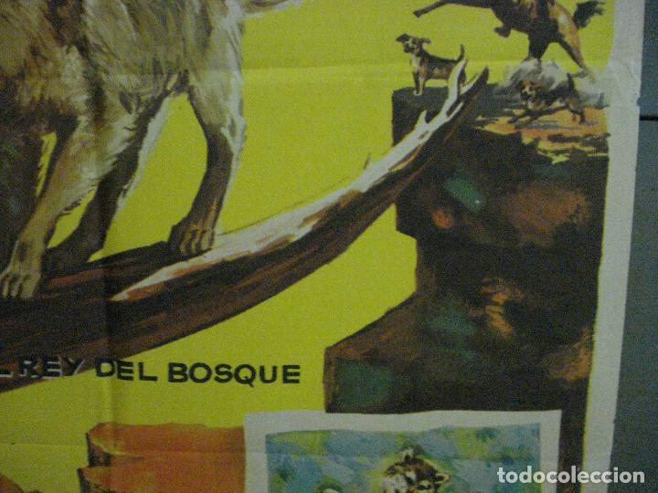 Cine: CDO 5412 LA LEYENDA DE LOBO WALT DISNEY POSTER ORIGINAL ESTRENO 70X100 - Foto 7 - 218629203