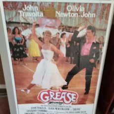 Cine: GREASE JOHN TRAVOLTA OLIVIA NEWTON JOHN POSTER ORIGINAL 70X100 DEL ESTRENO. Lote 218706820