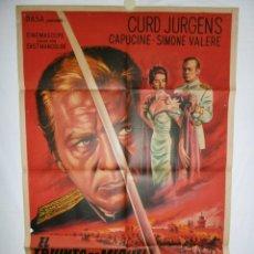 Cine: EL TRIUNFO DE MIGUEL STROGOFF - 1961 - 110 X 75 - LITOGRAFICO. Lote 218766917