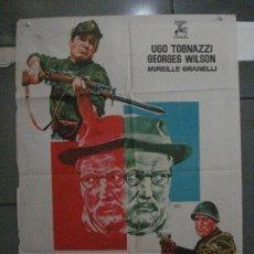 Cine: CDO 5428 EL FEDERAL UGO TOGNAZZI POSTER ORIGINAL 70X100 ESTRENO. Lote 218811192