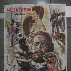 Cine: CDO 5438 EL JUEZ DE LA HORCA JOHN HUSTON PAUL NEWMAN AVA GARDNER MAC POSTER ORIGINAL 70X100 ESTRENO. Lote 218821777