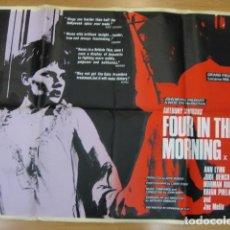 Cine: FOUR IN THE MORNING - POSTER CARTEL ORIGINAL INGLES - ANTHONY SIMMONS ANN LYNN JUDI DENCH,. Lote 218826061