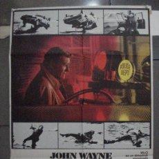 Cine: CDO 5446 MCQ JOHN WAYNE POSTER ORIGINAL 70X100 ESTRENO. Lote 218827765