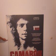 Cine: CARTEL ORIGINAL DE CINE DE 2 METROS X 1,40 CAMARON DE LA ISLA. Lote 218827917