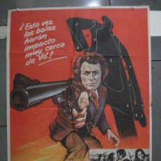 Cine: CDO 5447 HARRY EL FUERTE DIRTY HARRY 2ND FILM CLINT EASTWOOD POSTER ORIGINAL ESTRENO 70X100. Lote 218828208