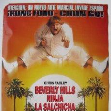 Cine: LA SALCHICHA PELEONA, CON CHRIS FARLEY. PÓSTER 67,5 X 97 CMS.. Lote 218847422
