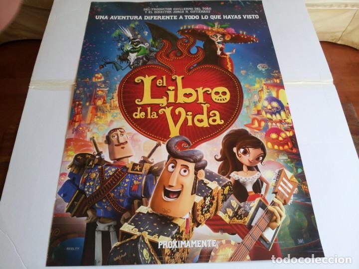 EL LIBRO DE LA VIDA - ANIMACION - CARTEL ORIGINAL FOX AÑO 2014 (Cine - Posters y Carteles - Infantil)