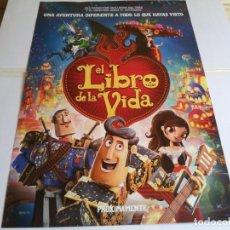 Cine: EL LIBRO DE LA VIDA - ANIMACION - CARTEL ORIGINAL FOX AÑO 2014. Lote 218871602