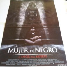 Cine: LA MUJER DE NEGRO, EL ANGEL DE LA MUERTE - HELEN MCCRORY, JEREMY IRVINE - CARTEL ORIGINAL EONE 2015. Lote 218872557
