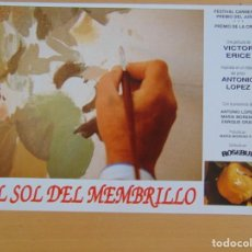 Cine: EL SOL DEL MEMBRILLO. Lote 218976268