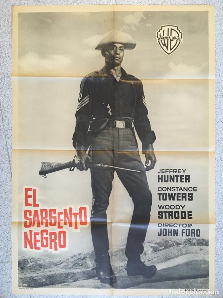 EL SARGENTO NEGRO ( JOHN FORD ) (Cine - Posters y Carteles - Westerns)
