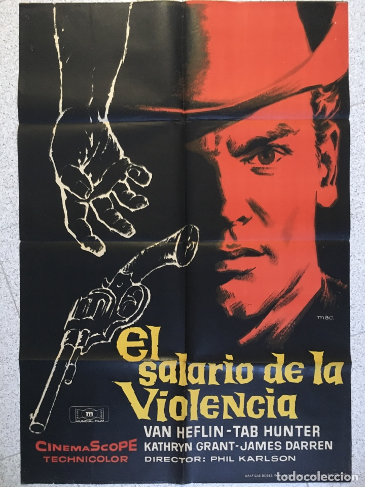 EL SALARIO DE LA VIOLENCIA (Cine - Posters y Carteles - Westerns)