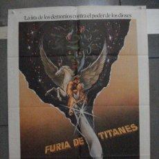 Cinéma: CDO 5460 FURIA DE TITANES RAY HARRYHAUSEN HARRY HAMLIN POSTER ORIGINAL 70X100 ESTRENO. Lote 219094713