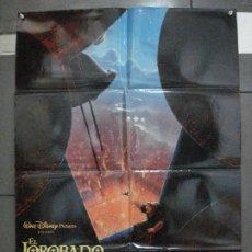 Cine: CDO 5470 EL JOROBADO DE NOTRE DAME WALT DISNEY POSTER ORIGINAL 70X100 ESTRENO. Lote 219102058