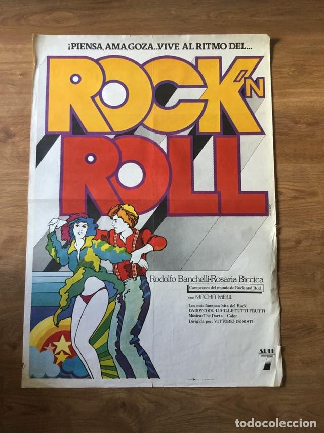 PÓSTER ROCK N ROLL - RODOLFO BANCHELLI (Cine - Posters y Carteles - Musicales)