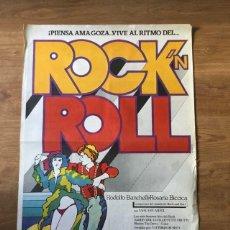 Cine: PÓSTER ROCK N ROLL - RODOLFO BANCHELLI. Lote 219105962
