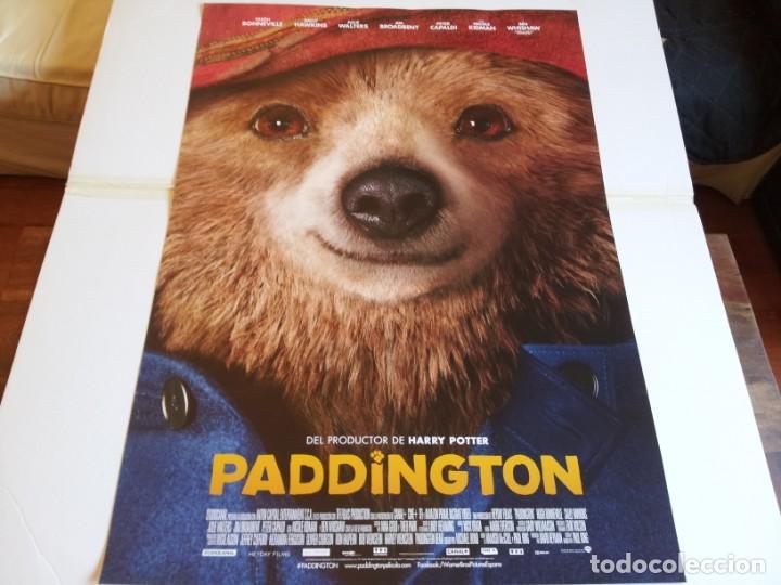 PADDINGTON - HUGH BONNEVILLE, SALLY HAWKINS - CARTEL ORIGINAL WARNER AÑO 2014 (Cine - Posters y Carteles - Infantil)